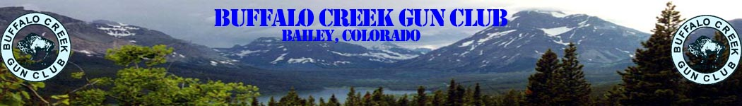 Buffalo Creek Gun Club - Bailey, CO
